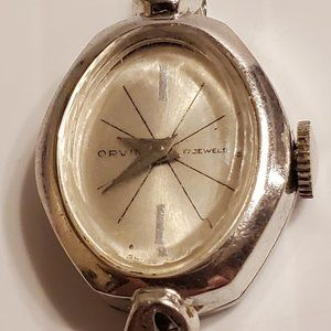Orvin 17 Jewel Swiss movement ladies wrist watch